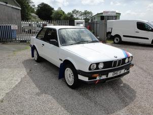 BMW E30 HISTORIC RALLY CAR