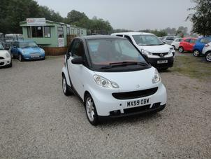 2009 SMART FORTWO 0.8 CDI PASSION AUTOMATIC