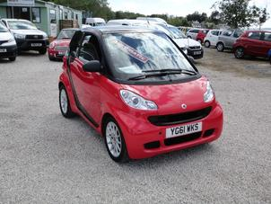 2011 SMART FORTWO 0.8 CDI PASSION AUTOMATIC